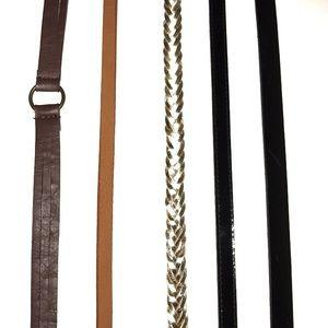 Assortment of Belts